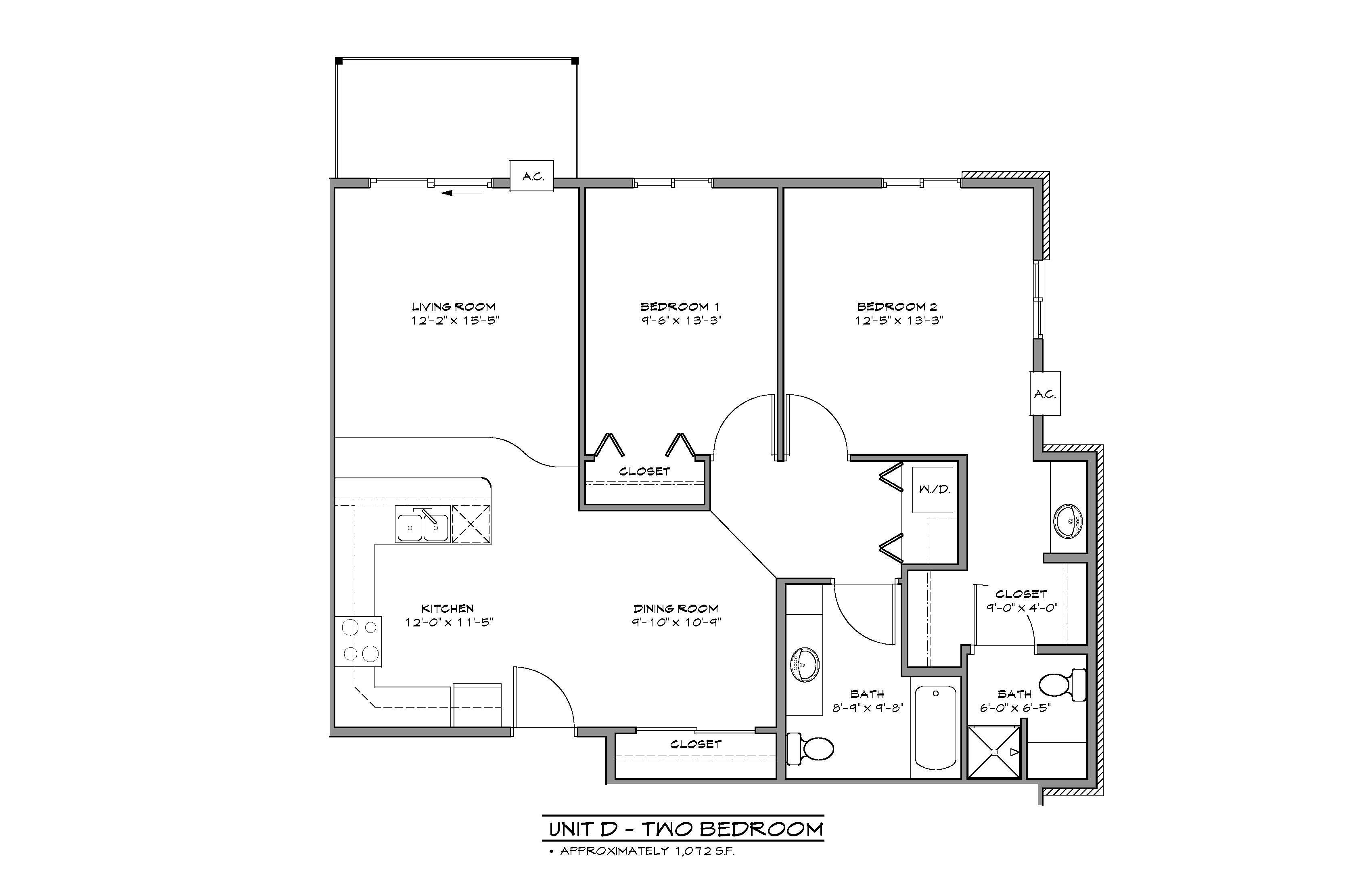 Apartment Floorplan Diagram